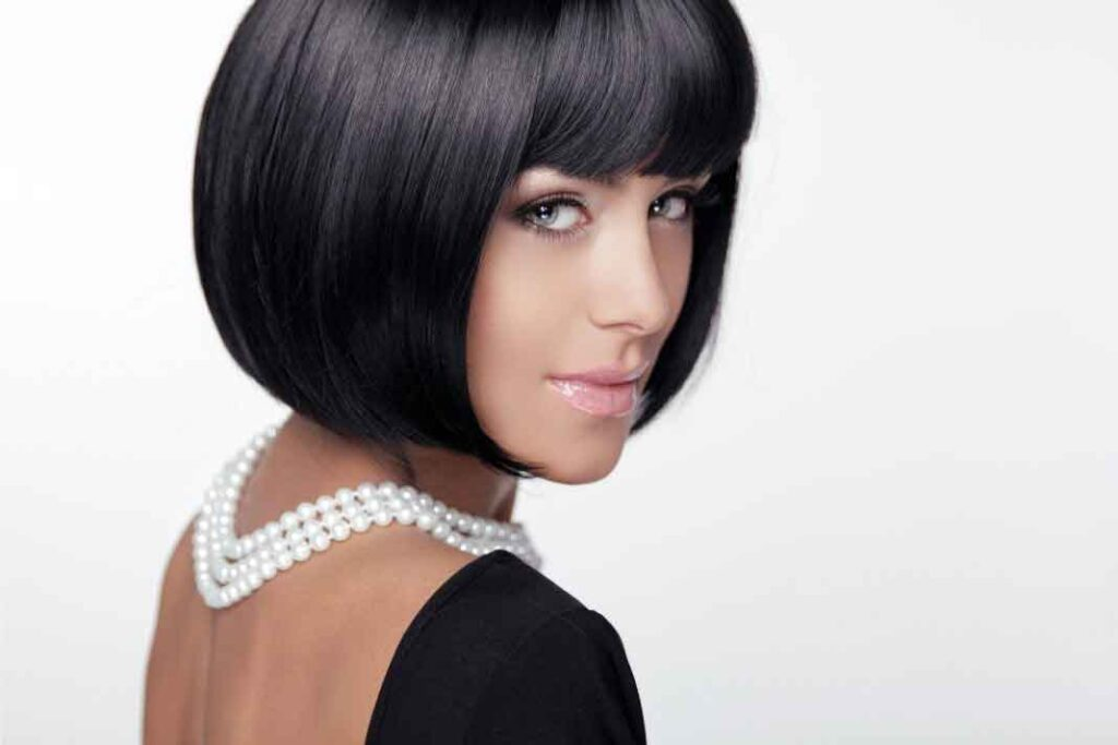 Short hairstyles for parties